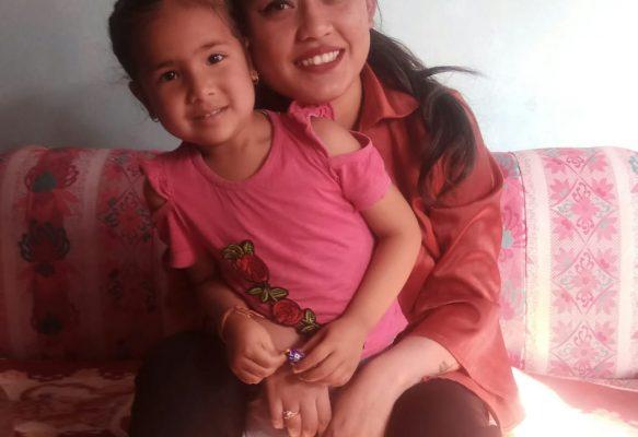Rajani (25), Nepal, ab April